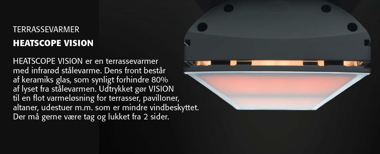 Heatscope Vision Terrassevarmer