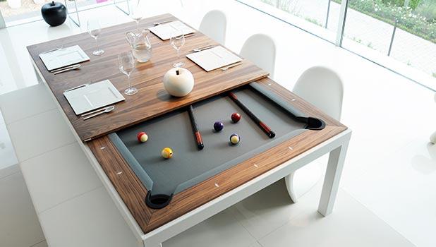 Fusiontables - et kombineret spise- og poolbord