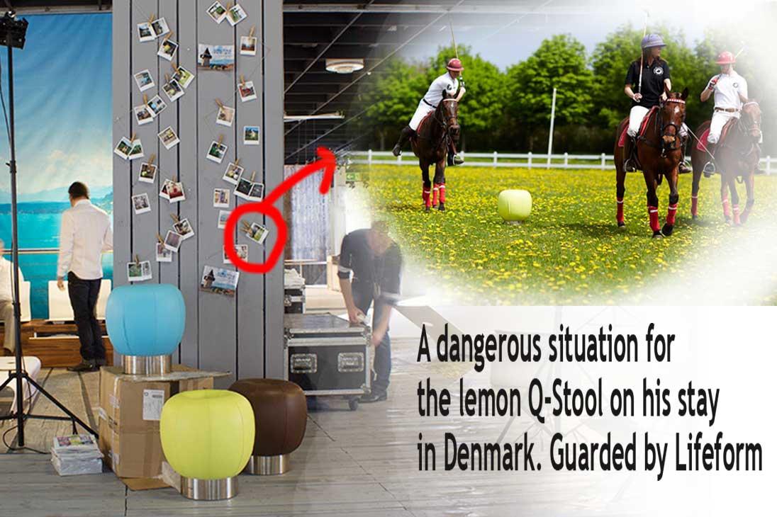 Lifeform Q-stool dk